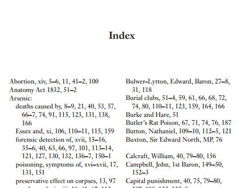 Poison Panic's index. Death, death, some death, more death, a bit more death....